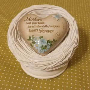 Heart Expressions Music Box - Bird Nest w/ Heart
